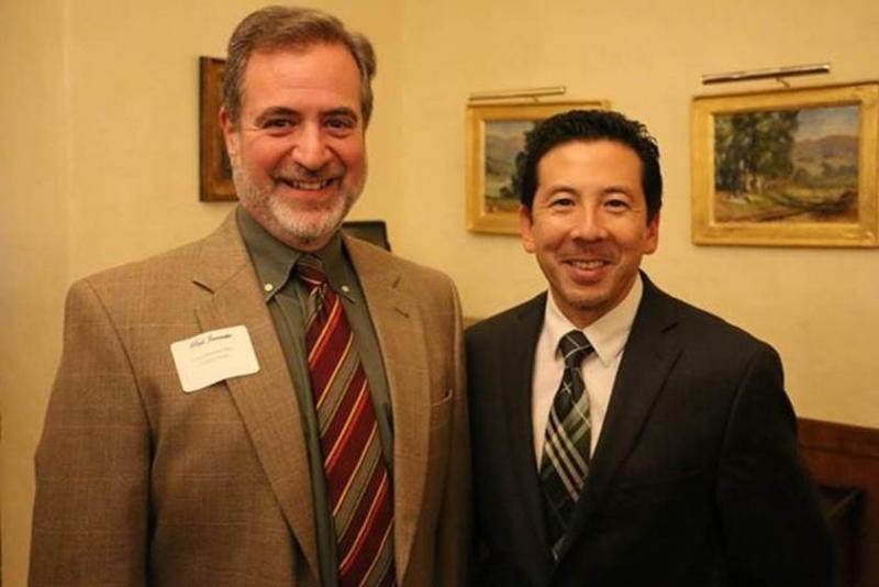 (From left to right) CenCal Health COO, Paul Jaconette with Dr. Takashi Wada, who previously worked as the Director of the Santa Barbara County Public Health Department and as of Jan. 1, has joined the CenCal Health team as Deputy Chief Medical Officer.